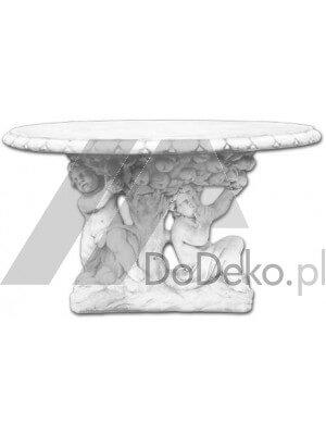 Stół ogrodowy z betonu